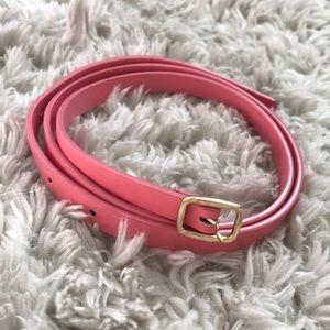 Adorable pink belt